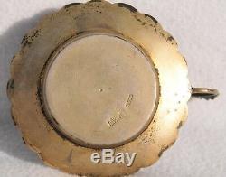 1892 Russian Royal Imperial 84 Silver Enamel Candlestick Klinger Kovsh Bowl Egg