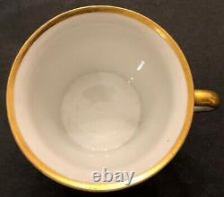 Alexander lll Imperial Russian Porcelain Cup & Saucer from Coronation Service