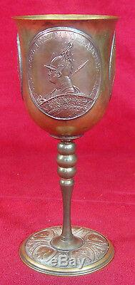Antique 1837 Russian Imperial Orthodox Chalice Cup (made By Fyodor Tolstoy)