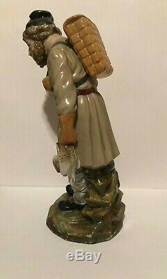 Antique 18th Century Russian Porcelain Figurine by Imperial Factory in St Peter