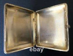Antique Imperial Russian 84 Gilded Silver Enameled Case (Peter Risch)