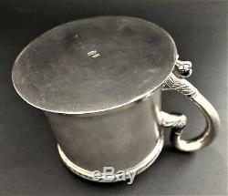 Antique Imperial Russian 84 Silver Cupholder