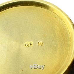 Antique Imperial Russian 88 Silver Shaded Enamel Pillbox Feodor Ruckert Pill Box