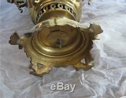 Antique Imperial Russian Brass Samovar Tula by V. Batashev 1890's