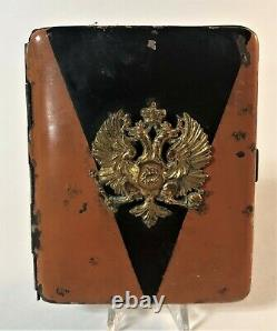 Antique Imperial Russian Cigarette Case St. George Colors