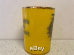 Antique Imperial Russian Commemorate 300 years of Romanov Dynasty Glass Beaker