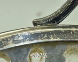 Antique Imperial Russian Faberge Art-Nouveau silver&crystal centrepiece c1890's