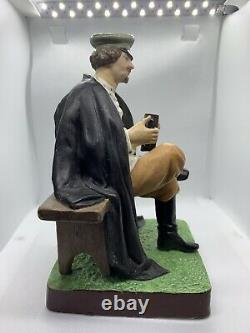Antique Imperial Russian porcelain Gardner manufactory figure accordion player