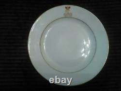 Antique Russia Russian imperial Porcelain Plate Nikolaus II 1912