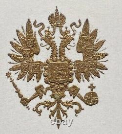 Antique Russian Imperial Court Orchestra Programme 1913 Tsar Nicholas II Romanov