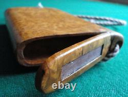 Antique Russian Imperial Prince Karlelian Birch Cigarette Case by Appay Paris