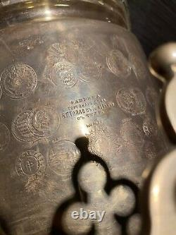 Antique Russian Tula Imperial Samovar by B. G. Teile