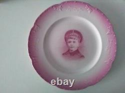 Antique Russian imperial Tsarevich Alexei Kuznetsov Porcelain Plate