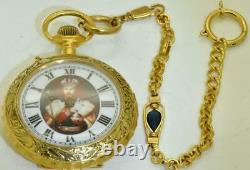 Antique WWI Imperial Russian Navy Yacht Standart officer's award pocket watch
