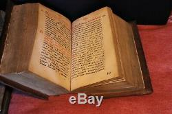 Antique huge illuminated Imperial Russia Bible Book Church eye1641 Moscow