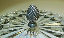 Casket Box Slver 84 Glass Imperial Russia