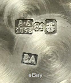 Genuine Russian Imperial 84 Silver 6pc Set ANDREYEV/ AKIMOV Original Box