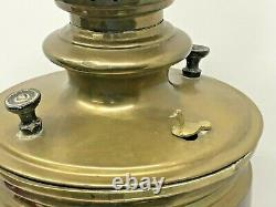 Imperial Antique Russian Samovar Tula With Teapot, 17 Stamps, 19th Century -BRASS
