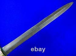 Imperial Russian Russia Antique 19 Century Artillery Short Sword