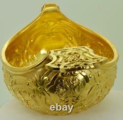 MUSEUM Imperial Russian Tsar Nicholas II award gold plated silver Kovsh. Lubavyn