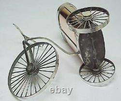 Old Object Fantasy Perchin For Faberge Russian Imperial Silver 84 Antique Russia