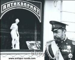 Original Russian Silver 84 Cigarette Case 2-a Artel For Faberge Imperial Antique