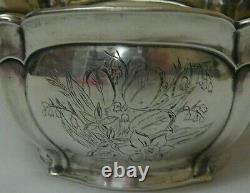 Ornamental Flowerpot 84 Silver Imperial Russian 1878
