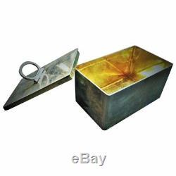 Pavel Sazikov, Imperial Russian 84° Silver & Gilt Box, St. Petersburg, ca. 1856