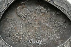 RARE Antique 1907 Russian imperial iron dish plate ashtray M. Teplykov, Kasli