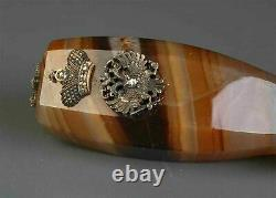 RARE RUSSIAN IMPERIAL GOLD MOUNTED AGATE SEAL, Anders Nevalainen