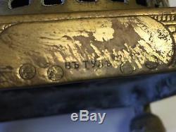 Rare Antique Tombak Bronze Russian Imperial Samovar, 16 1/2 T x 13 1/2 Widest