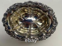 Rare Imperial Russian Solid Silver 84 Salt dated 1847 -by Karl Magnus Stahle