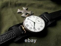 Rare PAUL BUHRE Oversize Trench 1900s WW I 1 SWISS IMPERIAL RUSSIAN WRIST WATCH