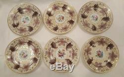 Russian Imperial Porcelain Factory Dessert Plate Korbievsky Service