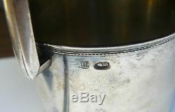 Russian Imperial Silver 84 Glass Holder Moscow 1908-1917 Maker Nikolay Strulev