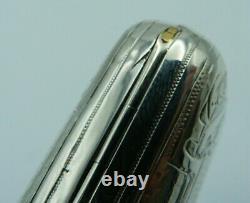 Solid Silver Russian Cigar / Antique 19th Century Imperial Cigarette Case 84