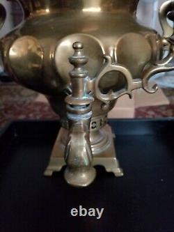 TOMBAK RUSSIAN IMPERIAL SAMOVAR RARE (1800's) Vase kettle Stamped BATASHEV