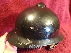 Very Nice Cond. Original Antique Sohlberg Helmet Ww I Imperial Russia Russian