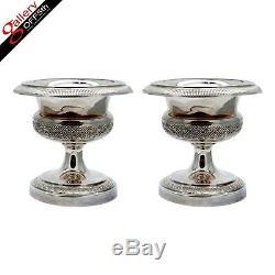 Vintage Antique Imperial Russian 84 Silver 88 Salt Cellar FABERGE Era Pan Slavic
