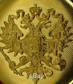 WOW! Imperial Russian Royal family 18k gold H. Perregaux(Girard-Perregaux) watch