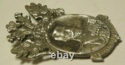 WWI Pendant Token Silver 84 Imperial Russian Moscow 1916 Nicholas II
