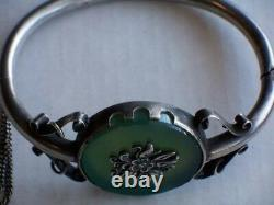 XIX Vintage Beautiful Russian Imperial Silver 84 Bracelet Antique Russia Jewelry