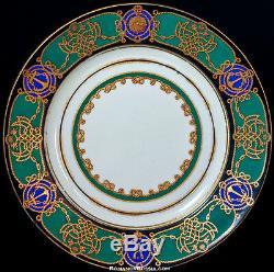 Yacht Derzhava Antique Russian Imperial Porcelain Plate