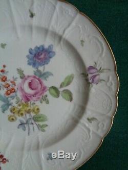 18 Antique Siècle Impériale Russe Manufacture De Porcelaine Plaque Tsar Paul Romanov