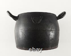 1875 Pot De Cuisine Russe Impérial En Fonte Maltsev Fabrication Rare