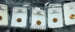 20 High Top Coins Etat Russe Antique Gold 1902-1904 Gpc Ngc Russie Impériale