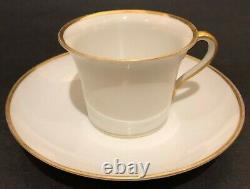 Alexander LLL Imperial Russian Porcelain Cup & Soucoupe De Coronation Service