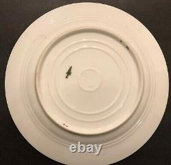 Alexander LLL Imperial Russian Porcelain Desert Plate De Coronation Service