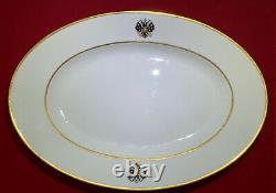 Alexander LLL Imperial Russian Porcelain From Coronation Platter Service 15,5