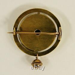 Alexander Tillander Antique Impérial Russe 56 Broche D'or